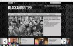 Black and British Season BBC Website